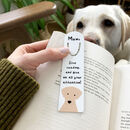 Funny Dog Mum/ Dad, Personalised Bookmark
