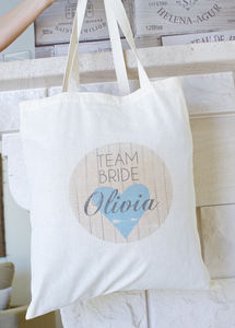 Large Personalised Hen Party /Team Bride Bag