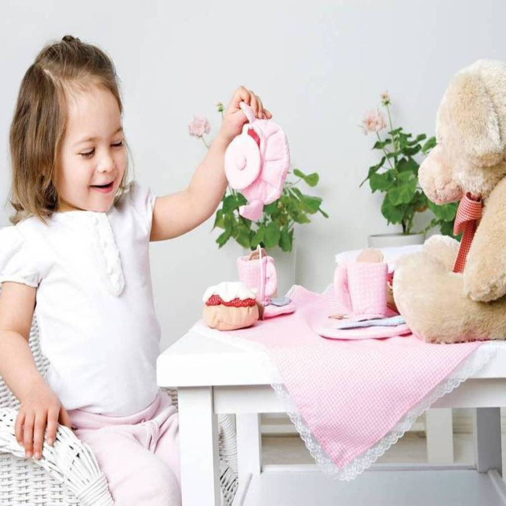 Afternoon Tea Soft Play Toy: 3rd Birthday Gift