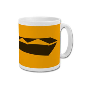 'Old Gold Gables' Wolverhampton Wanderers Mug - dining room