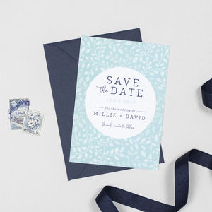 Alice Save The Date Invitations