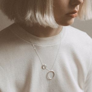Circle Necklace - contemporary jewellery