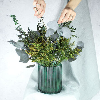 Real Preserved Eucalyptus Sustainable Letterbox Bouquet