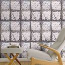 Cracked Tin Tile Wallpaper By Woodchip And Magnolia