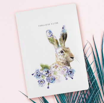 A5 notebook hare
