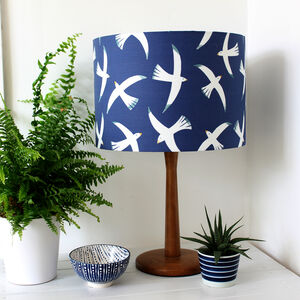 'Flight' Bird Fabric Lampshade