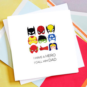 Personalised 'I Call Him' Card - shop by category