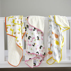 Large Swaddle Blanket - new baby gifts