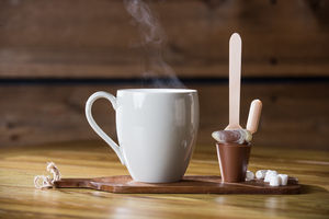 Boozy Praline Hot Chocolate Spoon Gift