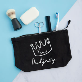 Your Dadjesty Wash Bag