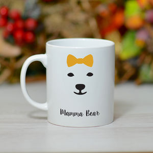 'Mamma Bear' Mug - tableware