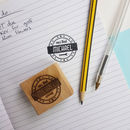 Personalised Retro Style Dad's Stamp