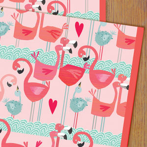 Flamingos Gift Wrap - shop by category