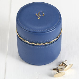 Leather Cufflink And Stud Box For Travel - jewellery gifts for ushers