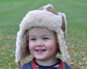 Childrens Sheepskin Hat