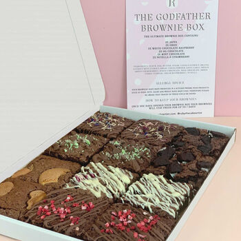 The Godfather Mixed Letterbox Brownie Box