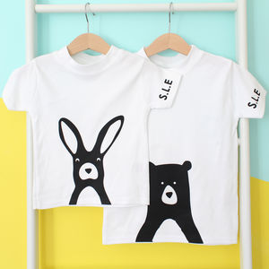 Rabbit Or Bear Personalised T Shirt
