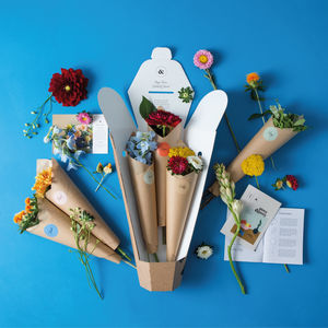 The Mini Three Month Creative Flower Subscription