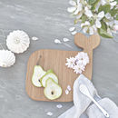 Wooden Whale Treat Board Chopping And Serving Board