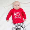 Personalised 'First Christmas' Christmas T Shirt