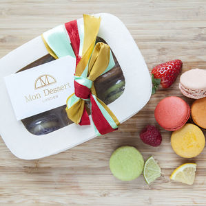 The Fruity Macaron Box - cakes
