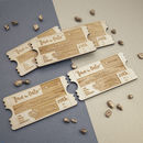 Personalised Wooden Save The Date