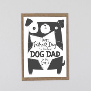 Father's Day Card From The Dog - from the cat or dog