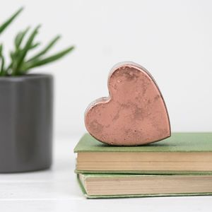 A Concrete Copper Heart