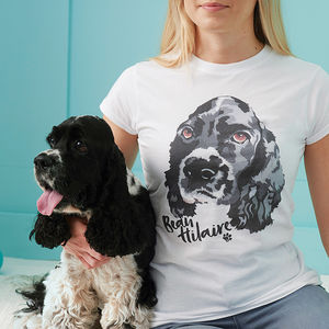 Personalised Custom Pet T Shirt - gifts for pet lovers