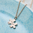 Personalised Mini Jigsaw Necklace