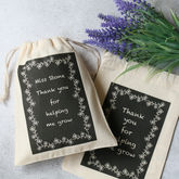 Teacher Gift Bag With Seeds - garden