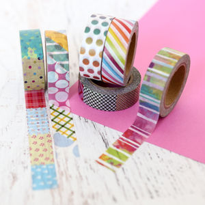 Colour Pop Washi Tape - summer sale