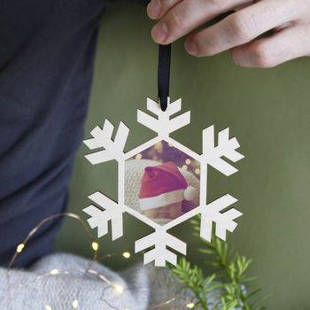 Baby's First Christmas Photo Christmas Tree Decoration