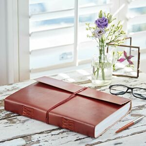 Personalised A4 Leather Journal