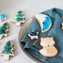 Watercolour Woodland Biscuit Gift Tin