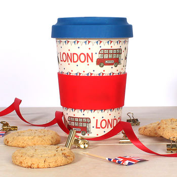 London Icons Eco Travel Mug