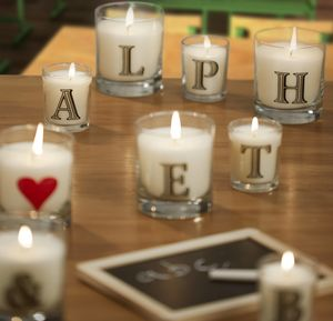 Alphabet Scented Candle - little extras