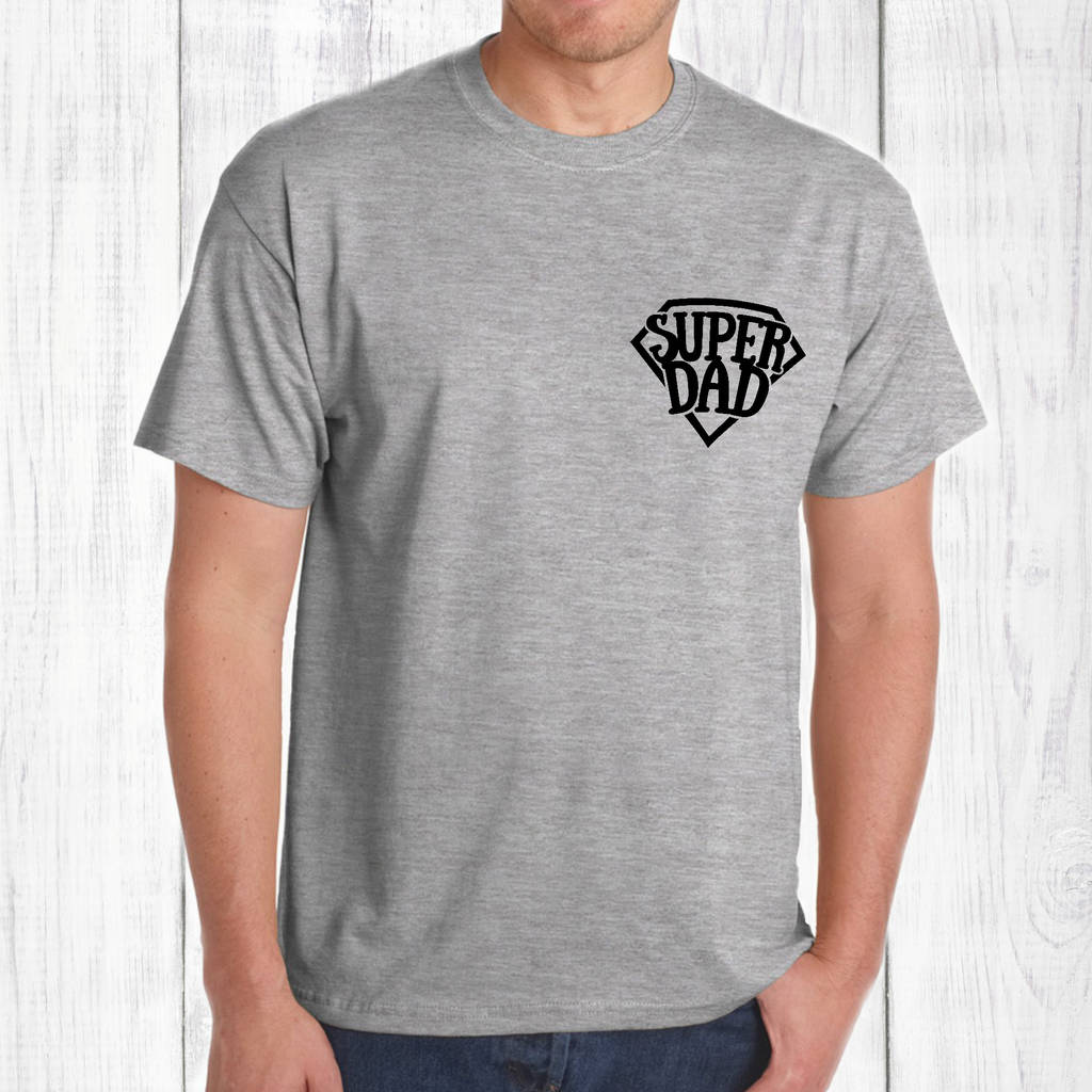 f12167c4 father's day super dad mens t shirt by betty bramble ...