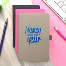 Personalised 'This is your Year' Notebook