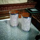 Salt And Pepper Shaker Set With Swarovski Crystals
