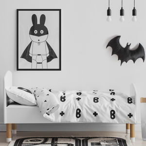 Superhero Print Children's Bedding Set - whatsnew