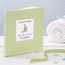 The Personalised Peter Rabbit Little Book Of Virtue