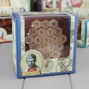 Aristotle's Wooden Number Puzzle - toys & games