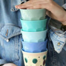 Colourful Melamine Picnic Camping Tumbler / Cup