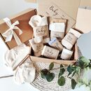 Personalised New Mum And Baby Eco Vegan Gift Set