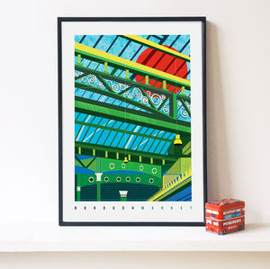 Borough Market London Art Print