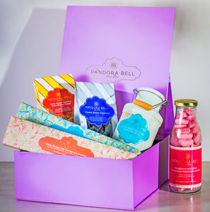 Gourmet Custom Sweet Hamper - chocolates & confectionery