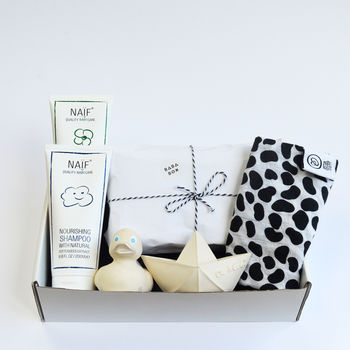 Bath Time Baby Gift Box