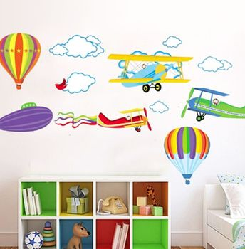 In The Air Wall Stickers