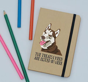 Personalised Dog Pocket Notebook